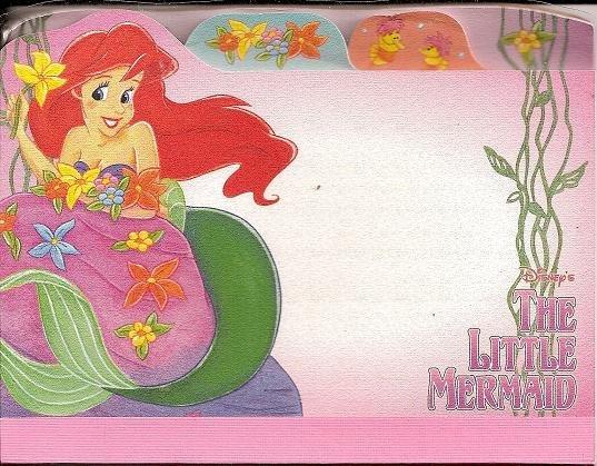 Disney The Little Mermaid Memo Pad