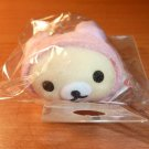San-X Korilakkuma in Pink Bunny Costume Cell Phone Strap