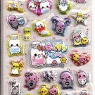 Kamio Medicine Chan Puffy Sparkly Sticker Sheet