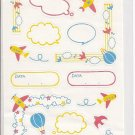 Motto Japanese Speech and Border Sticker Sheet
