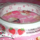Mind Wave I Love Strawberry Medium Deco Tape