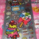 Q-LIa Candy and Sweets Double Sticker Sheet Set