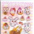 Lemon Co. Happy Usachan Epoxy Mini Sticker Sheet
