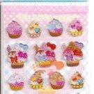 Lemon Co. We Love Cakes Epoxy Mini Sticker Sheet