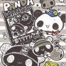 Kamio Panda Wanted Mini Memo Pad