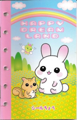 Lemon Co. Happy Dream Land 6-Ring Organizer Sticker Album
