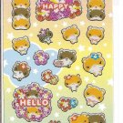 Ark Road Happy Hamsters Sticker Sheet