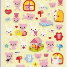 Mind Wave Rabbits and Bears House Sticker Sheet