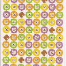 Ryu Ryu Lions Circle Seals Sticker Sheet