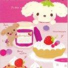 San-X Berry Puppy Desserts Memo Pad