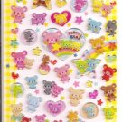 Q-Lia Humming Bear Epoxy Sticker Sheet