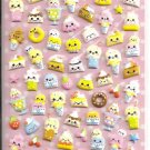 Kamio Smiling Desserts Puffy Sticker Sheet