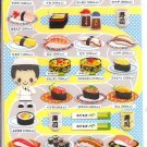 Crux Sushi Restaurant Sticker Sheet