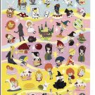 Crux Story of Children Coloful Foil Sticker Sheet