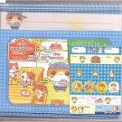 P. Funny Cafe Hamu Hamu Dining Letter Set