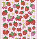 Crux Sparkly Strawberries Sticker Sheet