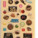 Crux Happy Taste Foods Sticker Sheet