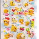 Crux Natto Chan Family Christmas Sticker Sheet