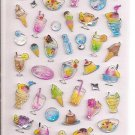 Crux Sparkly Cold Desserts Sticker Sheet