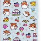 Q-Lia Happy Kohamu Blue Sticker Sheet