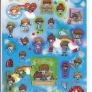 Kamio School Kids Sticker Sheet
