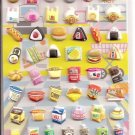 Kamio KJ Convenience Store Puffy Sticker Sheet