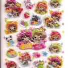 Pool Cool Juicy Friends Hard Epoxy Sticker Sheet