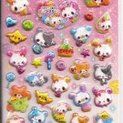 Crux Knitting Friends Puffy Sticker Sheet