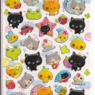 Crux Cats Bathing Sticker Sheet
