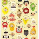 Kamio Old Man in Funny Costumes Sticker Sheet