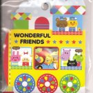 Kamio Wonderful Friends Sticker Sack