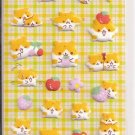 Crux Felt Hamsters and Apples Sticker Sheet
