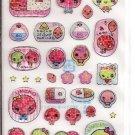 Japanese Ume Friends Sticker Sheet