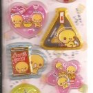Crux Natto Chan and Friends 3D Shakers Sticker Sheet