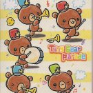 Crux Tiny Bear Parade Mini Memo Pad