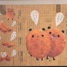 Kamio Panda Croquettes Memo Pad