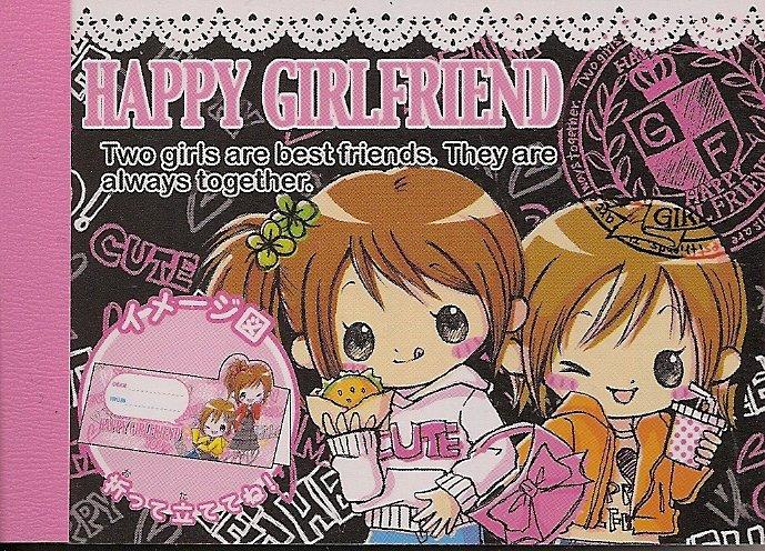 Crux Happy Girlfriend Mini Memo Pad