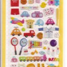 Korean Sticker World Toys and Sports Sticker Sheet