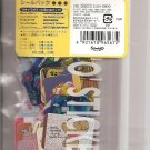 Sanrio 2004 Mixed Characters White Sticker Pack (Pack Of Stickers)