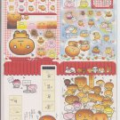 San-X Kogepan, Tare Panda, and Friends Jumbosealdass Sticker Booklet #2