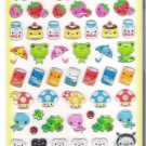 Q-Lia Smile Friends Hard Epoxy Sticker Sheet