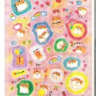 Crux Drawn Hamsters Red Sticker Sheet