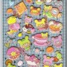 Crux Paku Pa Kuma Chan Desserts Puffy Sticker Sheet
