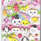 Kamio Sushi Obento Friends Puffy Sticker Sheet