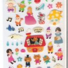 Mind Wave Dream Land Snow White, Three Little Pigs, etc. Sticker Sheet