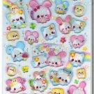 Kamio Flower Angel Hard Epoxy Sticker Sheet