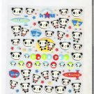 Kawaii Japanese De La Pan Panda Space Travel Sticker Sheet