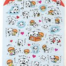 Crux Boy and Pandas Playing Sticker Sheet
