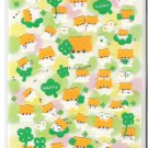 Crux Happy Hamsters and Clovers Felt Sticker Sheet