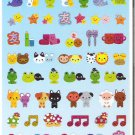 Kamio Friends and Pairs Sparkly Sticker Sheet